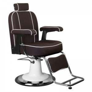 Barber kėdė GABBIANO AMADEO BROWN ARMCHAIR