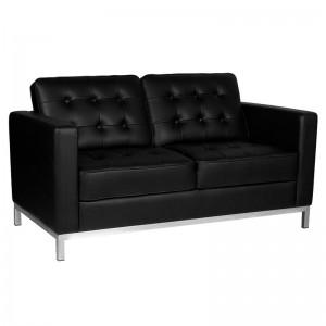 Kirpyklos laukiamojo sofa GABBIANO BM18019 JUODA