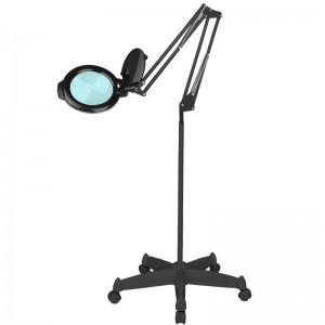"""Kosmetologinė LED lempa - Lupa """"MOONLIGHT 8013/6"""" su trikoju, juoda"""