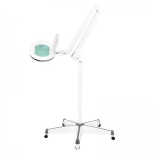 """Kosmetologinė lempa - lupa """"ELEGANTE 6028 60 LED SMD 5D"""" SU REG. ŠVIESOS STIPRUMAS"""