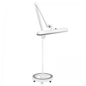 """Kosmetologinė LED lempa """"ELEGANTE 801-S"""" su šviesos reguliavimu, balta"""