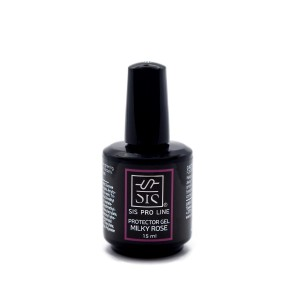 "SIS ""Protector Gel Milky Rose"" apsauginis Soak Off uv gelis 15ml."