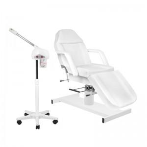 Rinkinys: Hidraulinė kosmetologinė lova A-210 + Kosmetologinis garintuvas B002