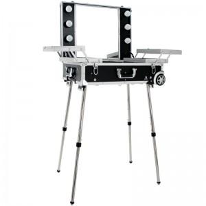 Mobilus lagaminas grožio specialistams BLACK GLAMOUR 9606