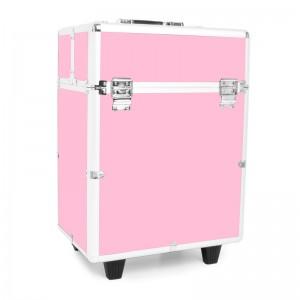 Mobilus lagaminas grožio specialistams PINK GLAMOR 9022