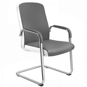 Kliento kėdė RICO C1501, Pilka