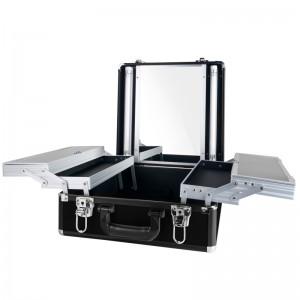 Mobilus lagaminas grožio specialistams BLACK GLAMOR 9511K