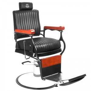Barber kėdė MASTER BLACK