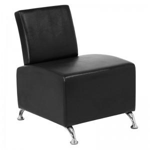 Kirpyklos laukiamojo kėdė GABBIANO 004, Juoda
