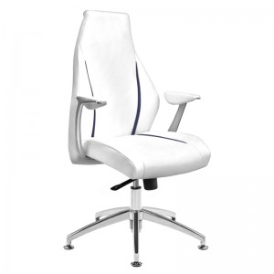 Kliento kėdė RICO 206, Balta