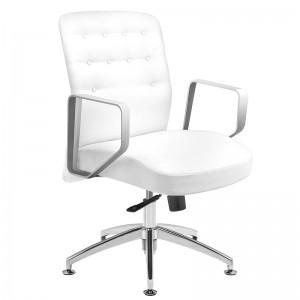 Kliento kėdė RICO 299, Balta