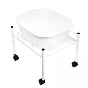 Pedikiūro vonelė + vežimėlis