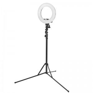 Žiedinė makiažo lempa LED 12