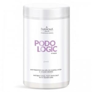 FARMONA PODOLOGIC FITNESS Antibakterinė kojų vonios druska su sidabro jonais 1400g
