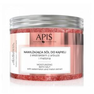 APIS drėkinanti vonios druska su arbūzu ir meliono ekstraktu, 650g