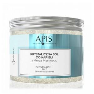 APIS OPTIMA, kristalinė vonios druska iš Negyvosios jūros 500G