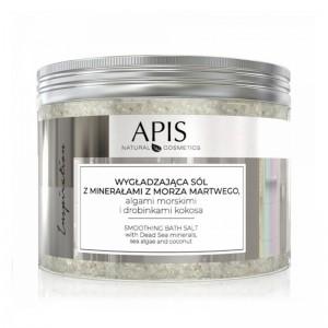APIS INSPIRATION, vonios druska su Negyvosios jūros mineralais, jūros dumbliais ir kokoso dalelėmis, 650 G