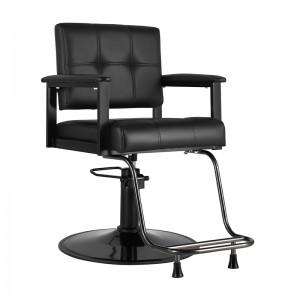 GABBIANO kirpyklos kėdė AMELIA, juoda
