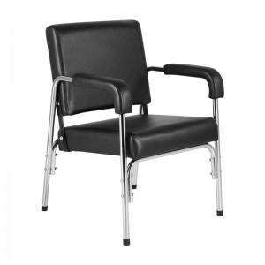 Kėdė - fotelis galvos plovimui su atlenkiamu atlošu  GABBIANO GB-1004 BLACK TILTING