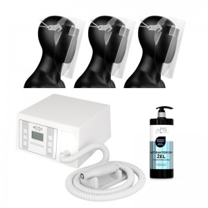 Frezavimo aparatas su filtru EXO SUPERnova + APIS antibakterinis gelis + Apsauginis skydelis
