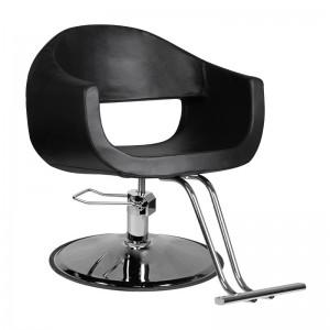 GABBIANO kirpyklos kėdė COMO, juoda