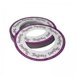 DEPILFLAX 100 Popierinis žiedas depiliacijos vaškui skardinėse, 10 vnt.