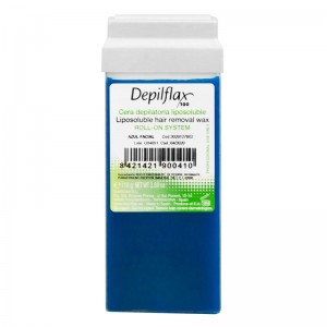 Vaškas depiliacijai su azulenu DEPILFLAX 100, 110g