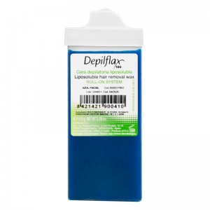 Depiliacijos vaškas DEPILFLAX AZULEN 110g