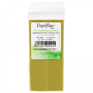 Vaškas depiliacijai DEPILFLAX 100 Natural 110g