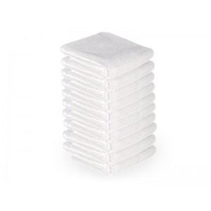 Mikropluošto rankšluosčiai 73X40CM 10vnt. balti