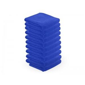 Mikropluošto rankšluosčiai 73X40CM 10vnt. mėlyni