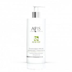 APIS Acne-Stop antibakterinis valomasis pienelis su žaliąja arbata 500ml