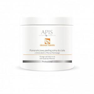 APIS Orange terApis apelsinų ir Negyvosios jūros druskos šveitiklis kūnui, 700 g.