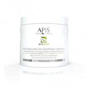 APIS Acne-Stop dumblių kaukė spuoguotai odai 250g