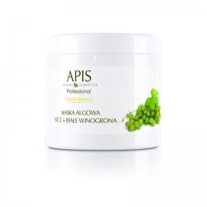 APIS Vitamin Balance dumblių kaukė vit. C + baltųjų vynuogių ekstratu kuperozinei odai,250g