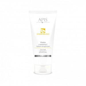 APIS Vitamin Balance kaukė su vit. C ir baltųjų vynuogių ekstratu kuperozinei odai, 200ml