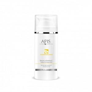 APIS Vitamin Balance serumas su vit. C + baltosios vynuogės ekstratu kuperozinei odai, 100ml