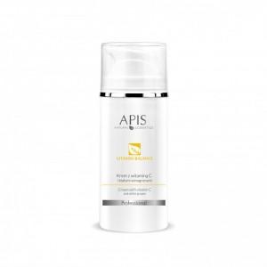 APIS Vitamin Balance kremas su vit. C ir baltosios vynuogės ekstratu kuperozinei odai, 100ml