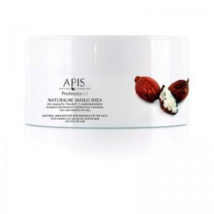 APIS Natūralus taukmedžio sviestas su argano aliejumi veido masažui 100g