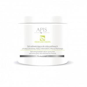APIS Fresh Lime terApis druska prakaituojančioms kojų pėdoms su citrinžole 650g
