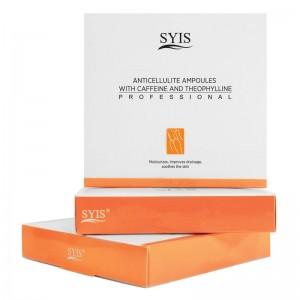 """""""SYIS"""" anticeliulitinė ampulė su kofeinu ir teofilinu, 3x10ml"""