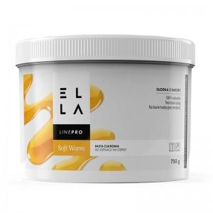 Cukraus pasta depiliacijai Ella Soft Warm 750g