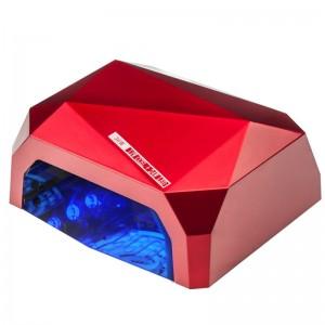 Lempa DIAMOND 2in1 UV LED+CCFL 36W TIMER + SENSOR RED