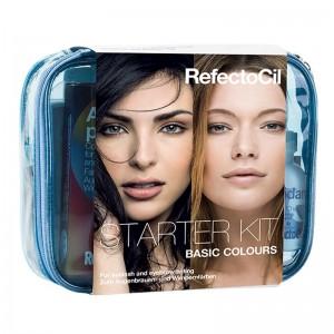 """""""RefectoCil"""" startinio rinkinio pagrindinės spalvos - antakiams ir blakstienoms dažyti"""