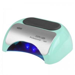 Lempa PROFESSIONAL 2in1 UV LED+CCFL 48W TIMER+SENSOR Žydra