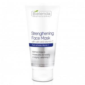 BIELENDA stiprinanti veido kaukė su rutinu ir vitaminu C ,175ml