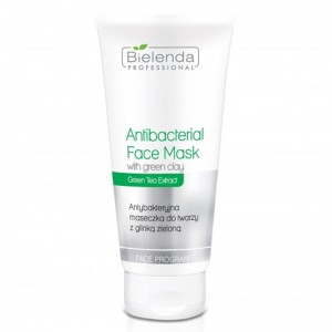 BIELENDA Antibakterinė kaukė su žaliuoju moliu, 150g