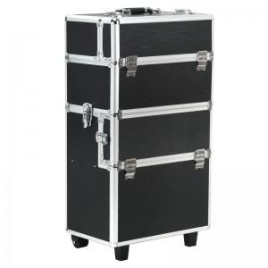 Kosmetinis lagaminėlis S-025 BLACK