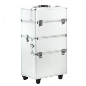 Kosmetinis lagaminėlis S-025 SILVER