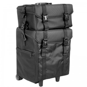 Kosmetinis lagaminas LOOK 500BT Juodas